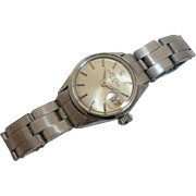 SALE Ladies Stainless Steel ROLEX Oyster Perpetual Date