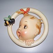 """Hummel """"Ba-Bee"""" Wall Plaque Crown Mark TMK #1  30/0 B"""