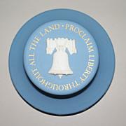 Wedgwood Liberty Bell  Desk Paper-Weight   circa 1976 Bi -Centennial