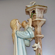 """Goebel    """"Madonna Of The Doves""""   Charlot BYI     10""""tall   dated 1967"""