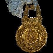 Antique French Bronze Rococo Clock Pendulum of Angels/Cherubs early 19th century