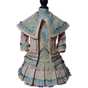 """SOLD Gorgeous  Couturier Costume Dress Jacket Beret for 23"""" doll"""