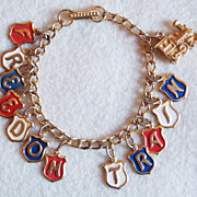 Awesome FREEDOM TRAIN Bicentennial Souvenir Vintage Estate Bracelet