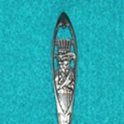 UNCLE SAM Sterling Silver WWI Vintage Estate SOUVENIR Spoon
