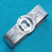 Antique Gorham Sterling Oval Estate Napkin Ring