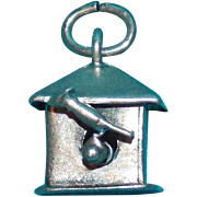 Sterling BIRD & BIRDHOUSE Vintage Charm