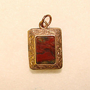 SOLD Fabulous Victorian LOCKET With Natural Stones