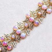 Fabulous GLASS OPALESCENT Vintage Estate Bracelet