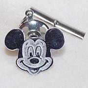 Sterling MICKEY MOUSE Disney Tack Pin