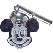 SOLD Sterling MICKEY MOUSE Disney Tack Pin