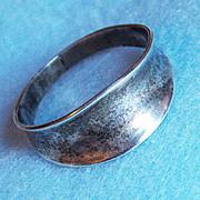 Gorgeous SIGNED SCANDINAVIAN STERLING Vintage Ring