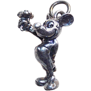 Sterling Mickey Mouse Vintage Charm
