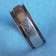 1933 Sterling Worlds Fair Napkin Ring