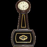 SOLD Antique E. Howard & Co. Boston Banjo Clock