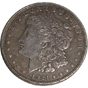 SOLD 1921 Morgan Silver Dollar U.S. Coin