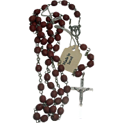 SOLD Vintage Rosary Beads Made in Israel