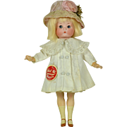 """""""Just Me"""" Character Bisque Doll, 10"""" tall, Factory Original Clothing"""