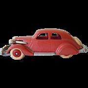 "Cast Iron Hubley Studebaker Sedan Toy, Ca. 1930, 5"" long, 98% paint"