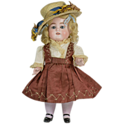 """Kestner All Bisque #150 Doll, 11"""" Tall, Excellent Condition, Ca. 1900-on"""