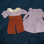 Adorable Boy & Girl doll Outfits for Raggedy Type or compo dolls Free P&I US ...