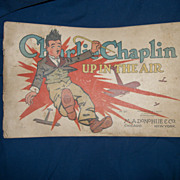 1917 Charlie Chaplin Up In the Air cartoon book E C Segar free P&I ...