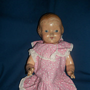 """15"""" Effanbee Baby Dainty Compo Doll  Free P&I US Buyers"""