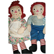 "18"" Georgene Raggedy Ann & Andy HTF Outfit Free P&I US BUYERS"