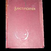 1897 Sanctification Rev Carrdine Book Free P&I US Buyers