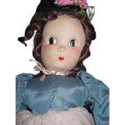 "20"" Wonderful Madame Alexander Little Shaver Cloth Tagged Doll free P&I US BUYERS"