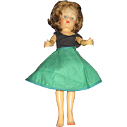 Vintage Miss Ginger Doll in tagged skirt free P&I US Buyers