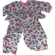 Cute Flowered PJ'S For your Composition Alexander Effanbee Teen type Dolls ! Free P&I US B