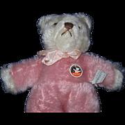 "Rare Mutzli Swiss  Mohair 10 "" Teddy Bear made for Woodward & Lothrop Washington, DC Free"