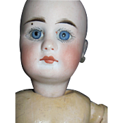 """SOLD Beautiful 12"""" Belton bisque Type Doll with hairline Free P&I US Buyers"""