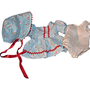Vintage 3 piece oufit for your Baby doll Free P&I US Buyers