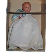 Little Miss Pattycake Bisque baby Nancy Ann Story Book Doll Free P&I US Buyers