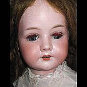 "SALE 23"" C.M. Bergmann Child Bisque doll Free P&I US Buyers"