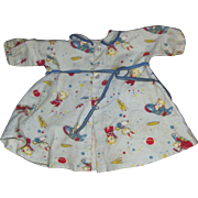 Cute Flannel Robe for your Dy Dee Baby Doll and Friends Free P&I US Buyers