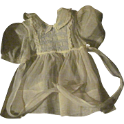 Beautiful hand made organdy Smocked Dress for Dy Dee baby doll & and Friends Free P&I US Buyer