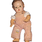"""Cute 11"""" Dy Dee Baby doll For parts Early body Free P&I US Buyers"""