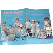 Winter 1988 Doll News UFDC Schoenhut  Dolls Free P&I US buyers