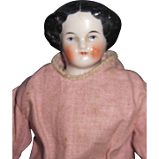 """10"""" Cabinet size Flat top China Head Doll Free P&I US Buyers"""