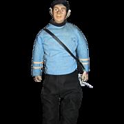 "18 "" Star Trek Artist OOAK Spock Doll Free P&I US Buyers"