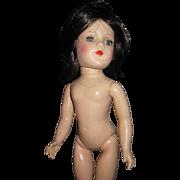 """Lovely 14"""" Brunette Plastic Mary Hoyer Doll Free P&I US Buyers"""