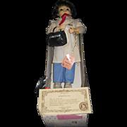 1988 Brinn Doctor Doll Box & certificate & box Free P&I US Buyers