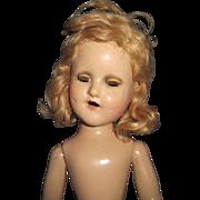 "14"" Nude Madame Alexander Sonja Henie Doll Free P&I US Buyers"