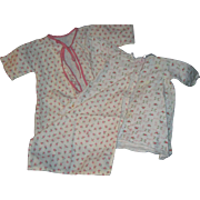 Adorable Flannel 3 piece  rose design fo Dy Dee Doll & Friends   Free P&I US ...
