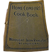 Vintage Home Comfort Cook Book Wright Iron Range Co Free P&I US Buyers