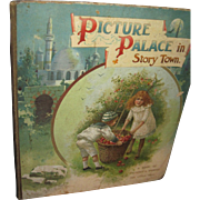 1800's Picture Palace in Story Town Beautiful colored Illus Children Free P&I US ...