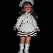 "Beautiful Furga lta Moda Red Head 17"" Doll Free P&I US Buyers"