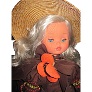 """Lovely 17"""" Furga Southern Belle Doll Free P&I US Buyers"""